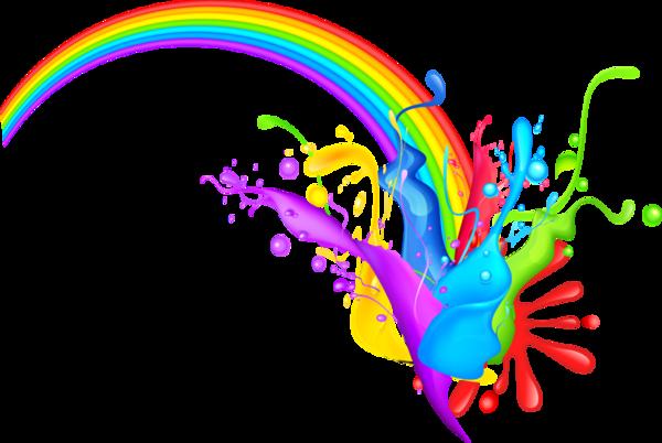 Картинки радуга png