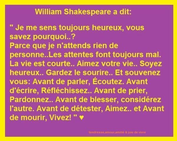 citation de william shakespeaere